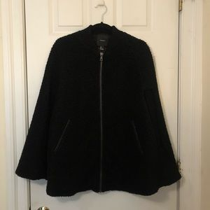 Forever 21 wool cape/poncho, size small
